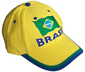Casquette BRESIL - Collection supporter Football - Brasil - Taille r?glable