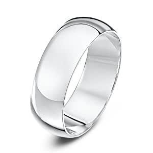 Theia Bague Or blanc Homme - Taille 59 (18.8)