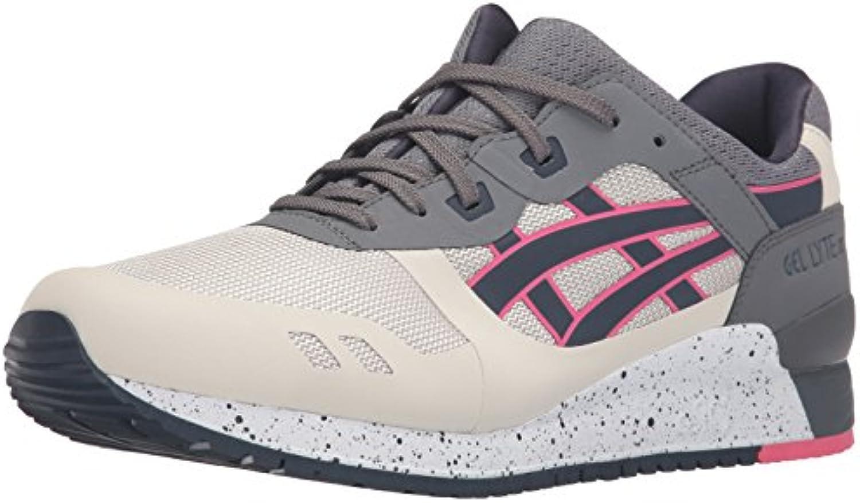 ASICS Men's Gel Lyte III NS Fashion Sneaker  Off White/India Ink  5 M US