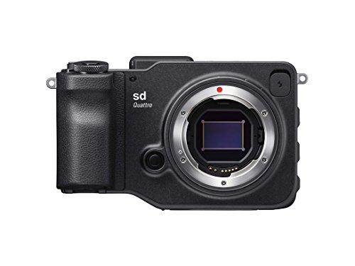 Sigma SD Quattro - Spiegellose Systemkamera (SA), schwarz