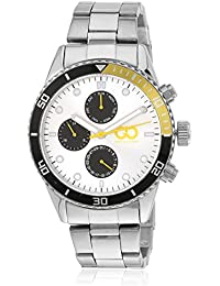 Gio Collection Analog Multi-Color Dial Men's Watch - GAD0040-D