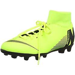 Nike Superfly 6 Club MG, Zapatillas de Fútbol Unisex Adulto, Verde (Volt/Black 701), 42 EU
