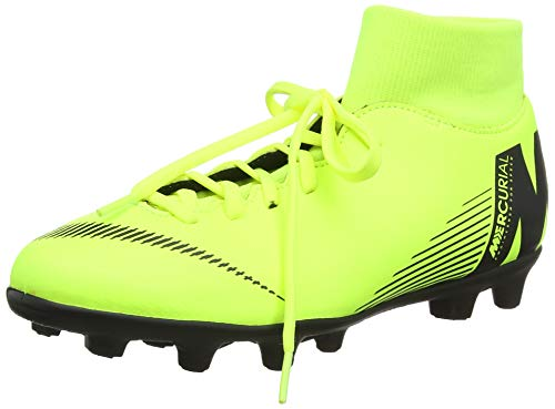 Nike Unisex-Erwachsene Superfly 6 Club Mg Fußballschuhe, Grün (Volt/Black 701), 44 EU -