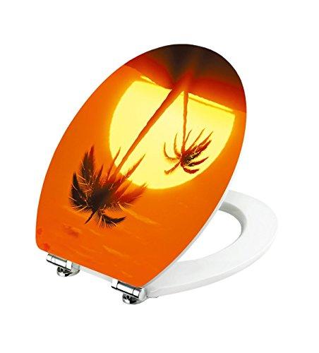 Preisvergleich Produktbild Magic Motion WC-Sitz TROPI SUNRISE von Cornat