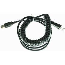 Arkscan Series USB cable for Motorola Symbol barcode scanner CBA-U12-C09ZAR (3M / 9FT Coiled)