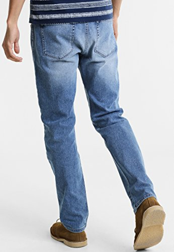4703f1005afe ... Hellblau Pier One Jeans Herren - Straight Leg Regular Fit Denim Hose  gerade in Dunkelblau, ...