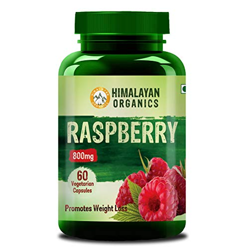 Himalayan Organics Raspberry Ketones Plus with Garcinia and Green Tea Extract for Weight Management 60 Veg Capsules (1)