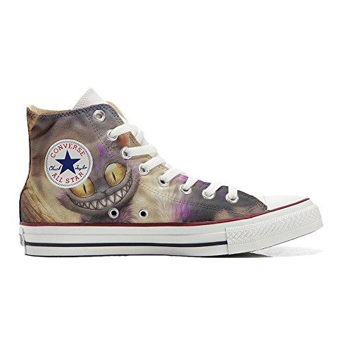 CONVERSE Personalizzate All Star Sneaker unisex (Scarpa artigianale) Occhi di gatto - TG37