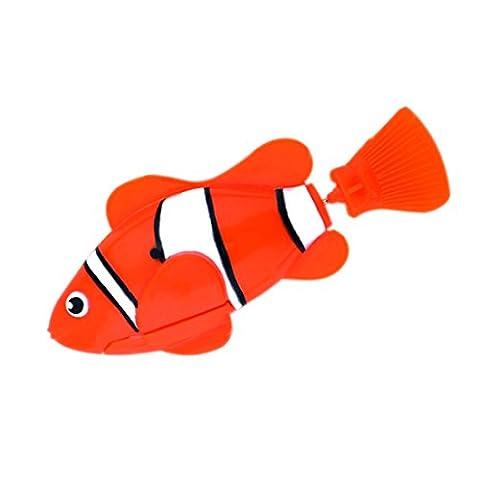Poissons clowns Robot étanche en Plastique Jouet pour Aquarium Fish