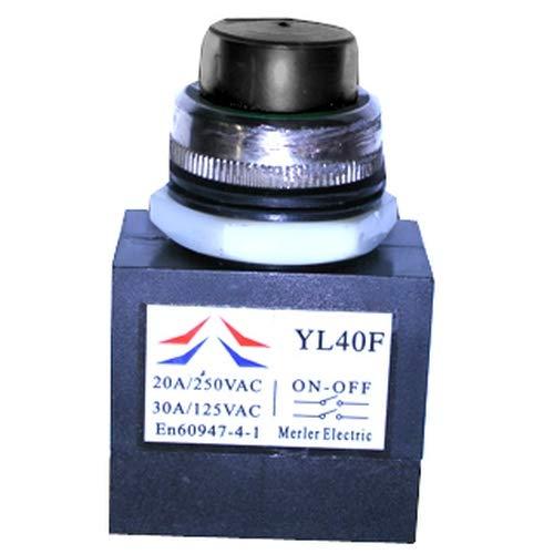 ATIKA Ersatzteil Schalter Taster KEDU YL40F für Holzspalter ASP 4 N/ASP 5N NEU
