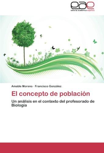 El Concepto de Poblacion por Moreno Amable