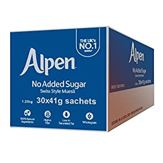Alpen Sachets with No Added Sugar - 30x41g