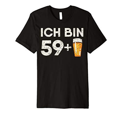 (60 Geburtstag Geschenk 59 plus Bier 1958 T-Shirt)