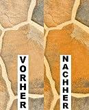 5 LITER CleanPrince Farbvertiefer Steinveredelung Terrassen Balkone 5000ml Steinimprägnierung Fleckstopp Marmor Granit Schiefer Platten imprägnieren Imprägnierung Farbvertiefung Farbauffrischung Farbauffrischer Hydrophobierung aller saugfähigen, porösen Natursteine, Kunststeine + rauher Oberfläche, Granit, Porphyr, Gneis, Marmor, Schiefer, Kalkstein, Terrassenplatten, Klinker, Ziegel, Sandstein, Granit, Travertin, Gneis, Kalkstein, Terrazzo, Ton, Terracotta, unpoliertes Feinsteinzeug, Terrakotta für 5 LITER CleanPrince Farbvertiefer Steinveredelung Terrassen Balkone 5000ml Steinimprägnierung Fleckstopp Marmor Granit Schiefer Platten imprägnieren Imprägnierung Farbvertiefung Farbauffrischung Farbauffrischer Hydrophobierung aller saugfähigen, porösen Natursteine, Kunststeine + rauher Oberfläche, Granit, Porphyr, Gneis, Marmor, Schiefer, Kalkstein, Terrassenplatten, Klinker, Ziegel, Sandstein, Granit, Travertin, Gneis, Kalkstein, Terrazzo, Ton, Terracotta, unpoliertes Feinsteinzeug, Terrakotta