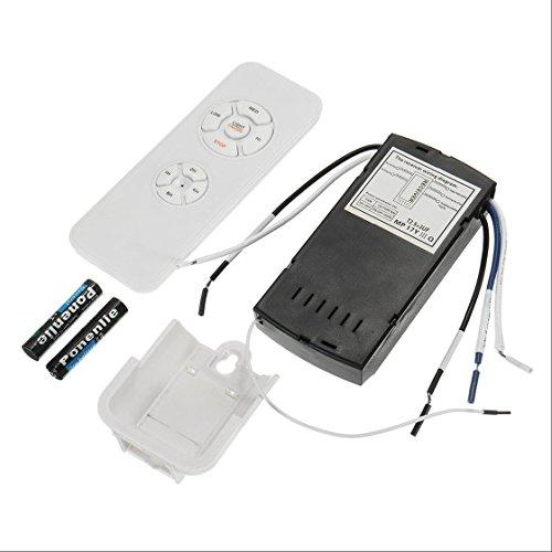 Kit De Control Remoto De La Lámpara Del Ventilador De Techo Universal  110 240V Interruptor