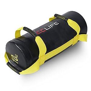 CCLIFE Gewichtssack Power Bag Sandbag 10/20/30kg Fitnessbag Sandsack Boxsack befüllter für Krafttraining Fitness