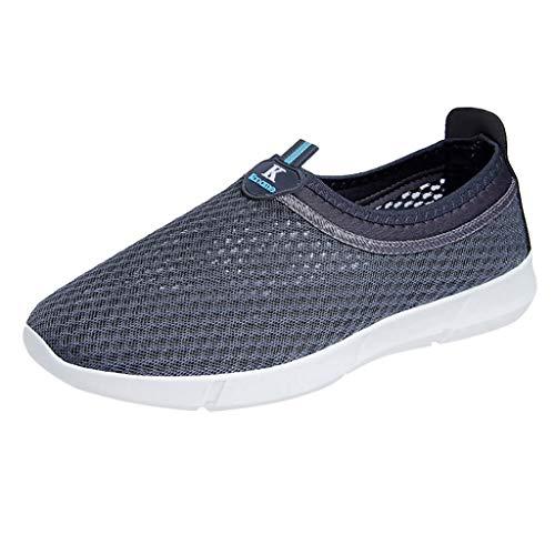 ODRD Sandalen Shoes Lässige Herren Strand Strand Schuhe Wasser Schuhe Hohl Mesh Student atmungsaktive Turnschuhe Schuhe Strandschuhe Freizeitschuhe Turnschuhe Hausschuhe