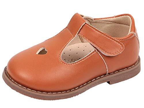 DADAWEN Mädchen Mary Jane Halbschuhe Klein Kind Loafers Schuhe Geschlossene Ballerinas Slippers Lauflernschuhe (Janes Mädchen Mary)