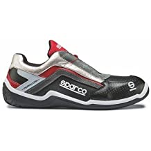(STOCK LAST)ZAPATILLAS SPARCO RALLY S1P N45 NR/R