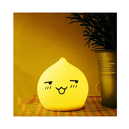Pat La Lampe De Silicone Chambre Lampe De Nuit Chambre Atmosphère De Lumière Des Enfants Mignons Alimentation Lampe Mère Lampe Cadeau Lampes (edition : 2)