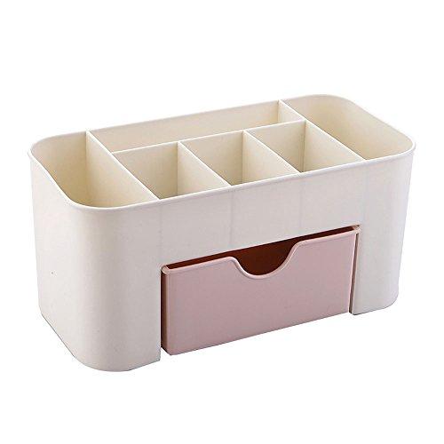 Hunt Or longue durée facile plastique organiseur cosmétique maquillage boîte de rangement avec tiroirs