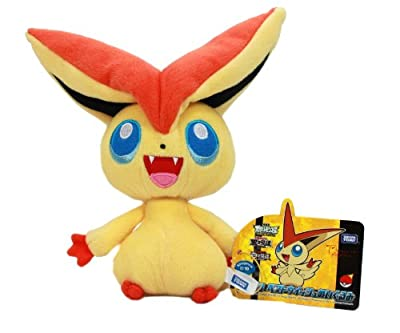 "Takara Tomy Pokemon Black & White Best Wishes Plush Toy - 7"" Victini (Japanes... (japan import) de Tomy"