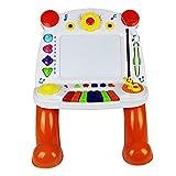 Tavolo da disegno per bambini lavagna magnetica tavolo da disegno per bambini di 1-3 anni lavagna per bambini di moda casa ragazzo lavagna bianca magnetica