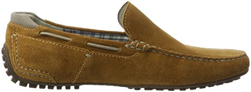 Sioux Cagil, Mocassins (loafers) homme Marron (Cuir)