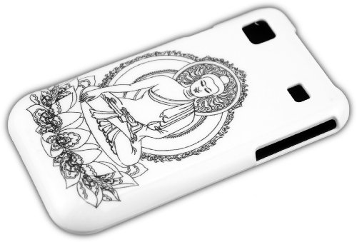 thematys Samsung Galaxy S1 i9000 i9001 S Plus BUDDHA Statue Schutz-Hülle Hard Case Etui I9000 Hard Case