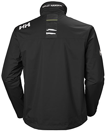 Helly Hansen Men's Crew Midlayer Waterproof Jacket Back
