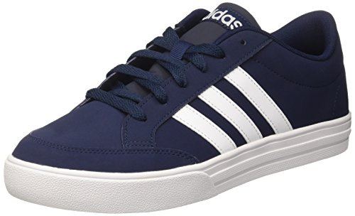adidas Men's Vs Low-Top Sneakers, Blue (Collegiate Navy/Ftwr White), 7.5 UK