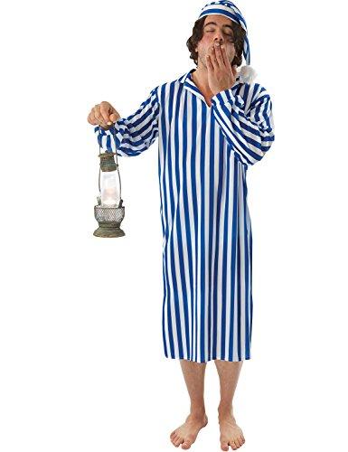 Wee Willy Winkie Kostüm Schlafmütze Nachtwandler Fasching Verkleidung Herren