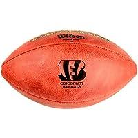 NFL Original Balón de fútbol con logotipo del equipo, Cincinnati Bengals
