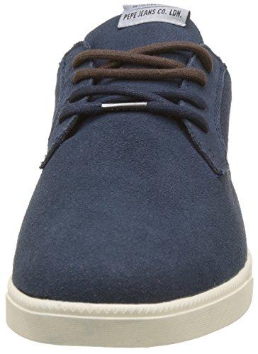 Calcetín marino Azul Bolton Bajo Deporte Jeans Hombre De Zapatillas Pepe qSgCwg