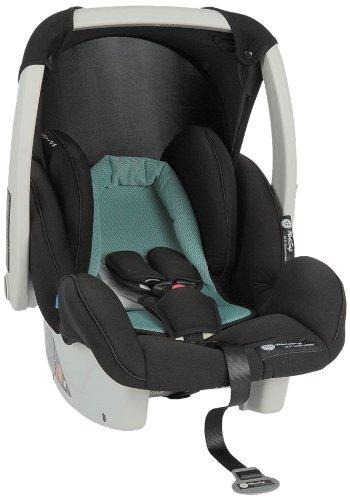 MediSafe 930038 Babyschale Cocomoon, Gruppe 0, 0-13 kg, blau-schwarz