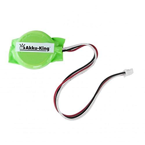 Akku-King Backup, CMOS Batterie für Dell Latitude 4300, E5400, E5410, E5510 - ersetzt 23.22207.041 - Li-Ion 200mAh - Für Laptop Hp Backup-batterie