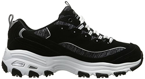 SKECHERS - D´Lites ME TIME 11936 - black white Nero (BKW)