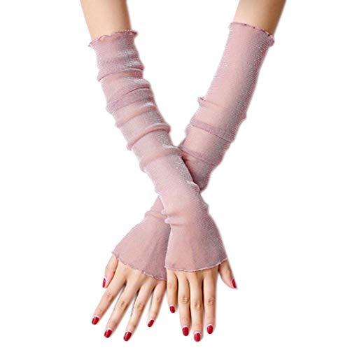 Fancy Pumpkin Elegante Frauen UV Sonnenschutz Arm Ärmel Beine Ärmel für Party Dress up Kostüm, E