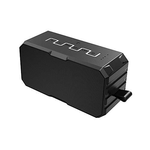 VNIUBI Mini Pocket Bluetooth Speaker - Haut-Parleur sans Fil Super-Portable avec des Basses Puissantes, Une Protection Anti-Goutte, Étanche, Contre Les Chocs Et La Poussière,1