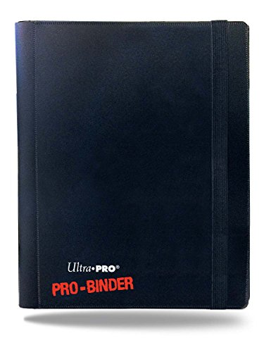 Ultra Pro 82895 - Black 4-Pocket PRO-Binder (Magic Card Binder)