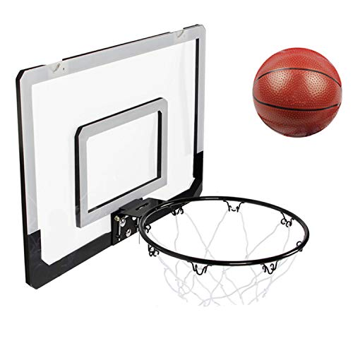 -Set, Kinder hängen Basketball Board, Mini-Basketball-Board, Indoor Outdoor Home Office Wand Basketball Stand ,Kinder Basketball-Spiel ()