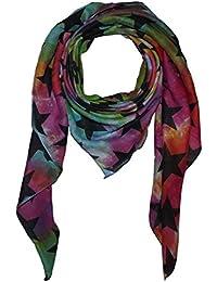 Superfreak® Baumwolltuch mit Sterne Muster°Tuch°Schal°100x100 cm°100% Baumwolle°alle Farben!!!