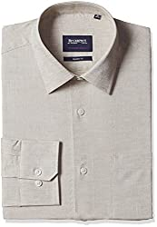 blackberrys Mens Formal Shirt (8907599255380_BP-ESSENCE_42_Beige)