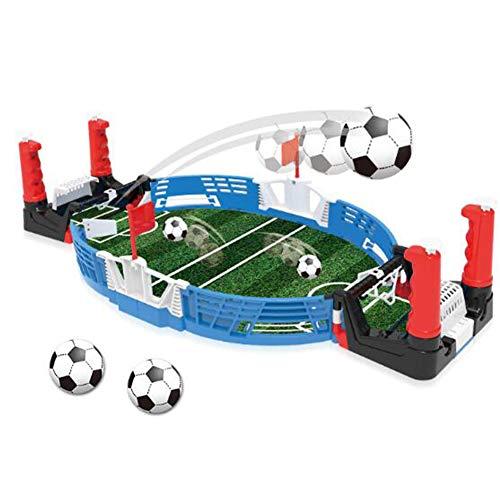 WXXW Futbolín De Mesa Juego Mesa De Fútbol Madera 69x37x24cm para Niño 3 Años y Adultos Sala De Juegos Interior y Exterior, Regalos Navideños, Manos De Entrenamiento, Juegos De Rompecabezas