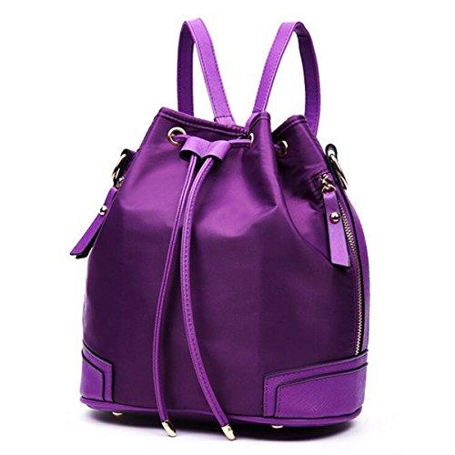Tre Set Elegante Versatile Tempo Libero Comodo Borse Purple