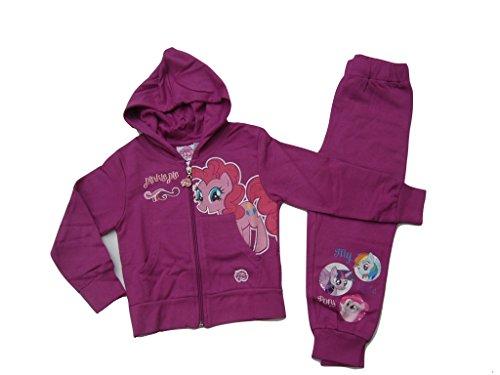 My Little Pony Jogginganzug cerise (92) (Jacke Little Mädchen My Pony)