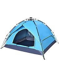 Tiendas de camping de velocidad abierta Carpas automáticas al aire libre Techos a prueba de lluvia, protección solar