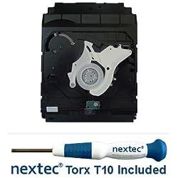 Neuf - Sony PS3 Lecteur Bluray - 20, 40, 60 GB Models - (KES/KEM-400 Bloc Optique) + Nextec® Tournevis de Sécurité T10