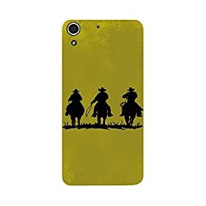 Phone Candy Designer Back Cover with direct 3D sublimation printing for HTC Desire 728G