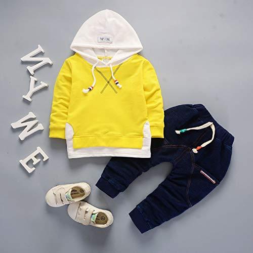 7838170c8c206 ClookYoon 2pcs   Set Mode Enfants Petites Filles Coton Confortable  Vêtements Chemise À Manches Longues +